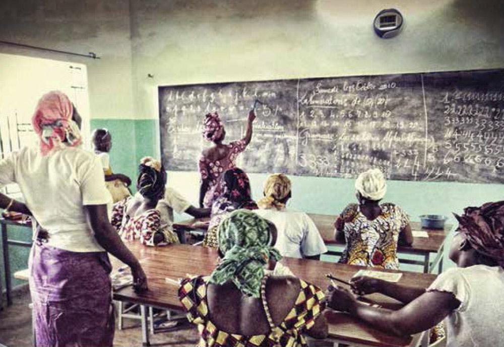 Alfabetización femenina en Kalana, Mali