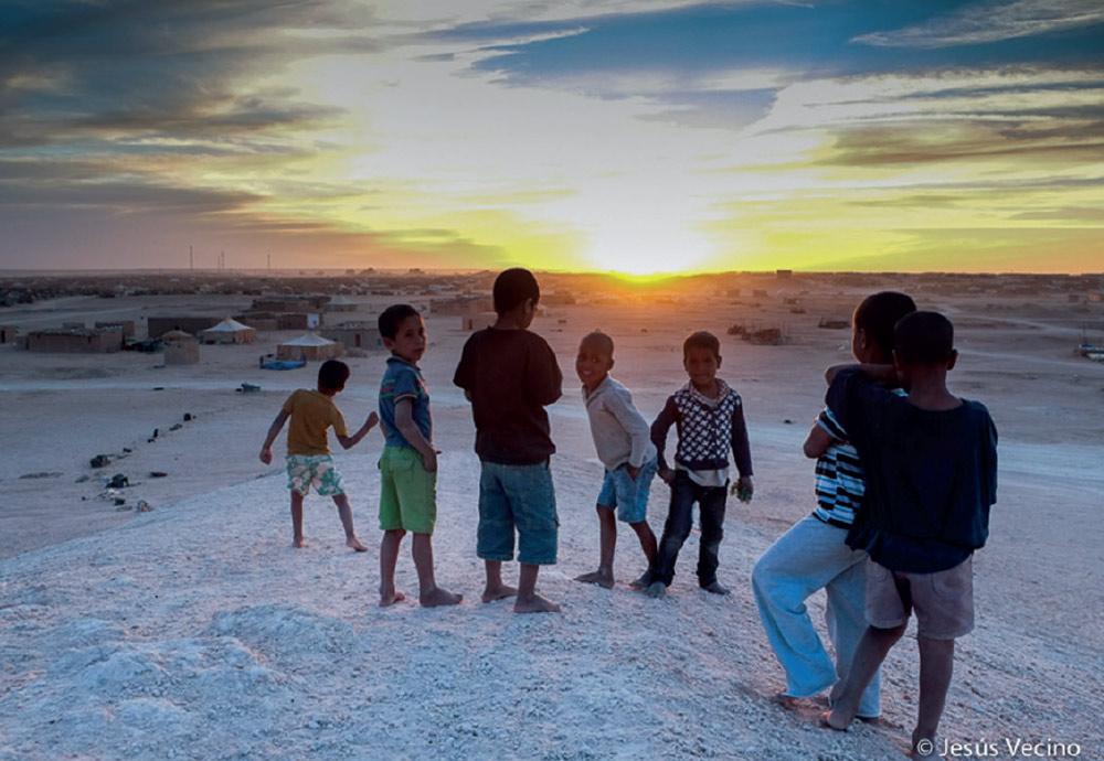 Media Luna Roja en Tindouf, Argelia