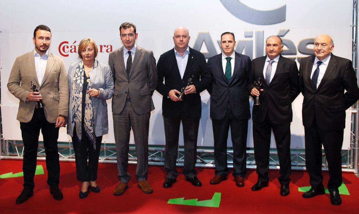 Premios Cámara de Comercio de Avilés 2017