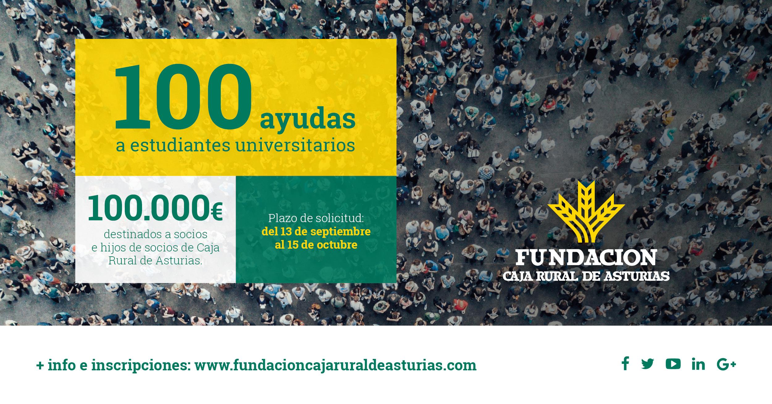 Ayudas Universitarias 2019 Caja Rural de Asturias